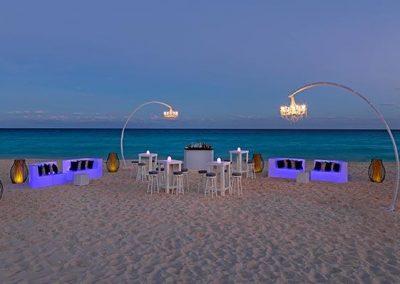 91paradisuscancun-cocktellounge-beach